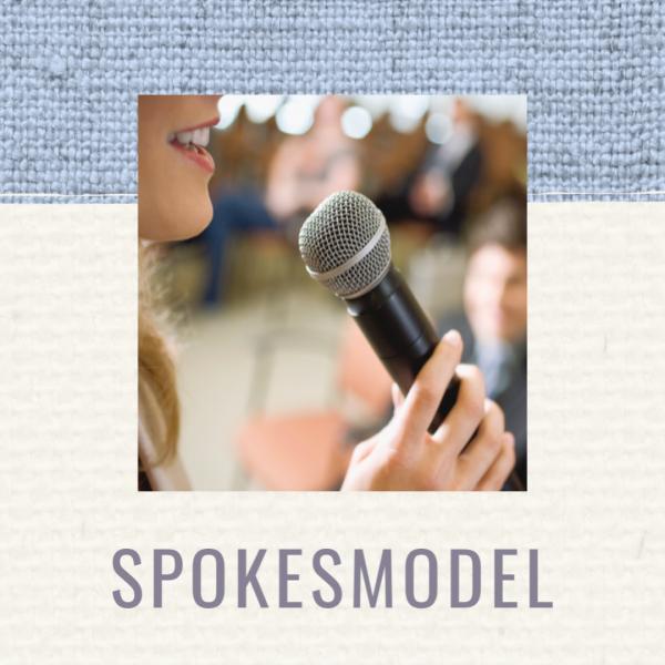 Custom spokesmodel speech
