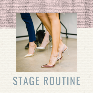 Pageant stage routine