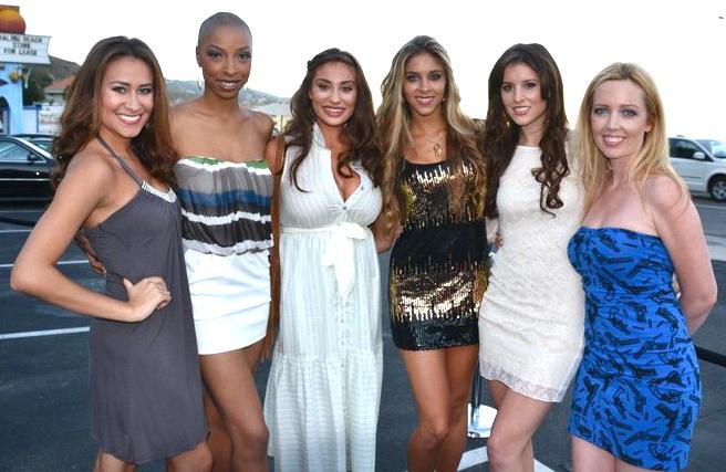 Miss Malibu USA contestants at Fashion Show