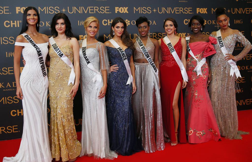 Miss Universe 2016 contestants