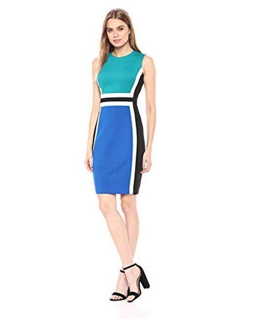 Calvin Klein pageant interview dress