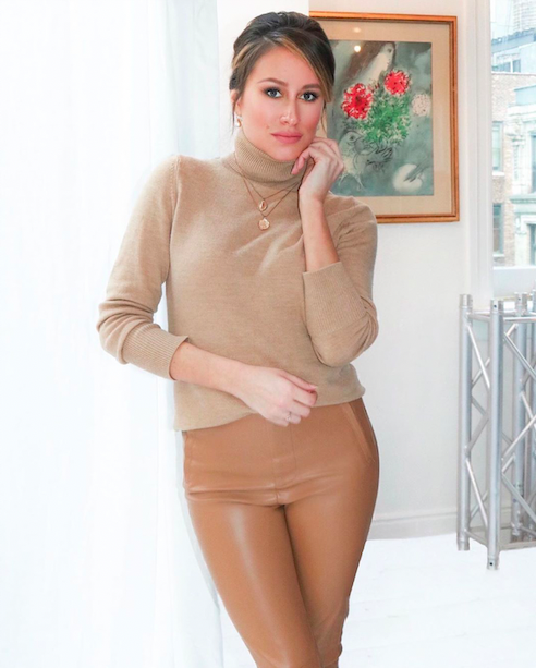 cashmere sweater outfit fall winter wardrobe