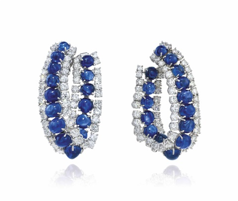 Harry Winston Sapphire earrings