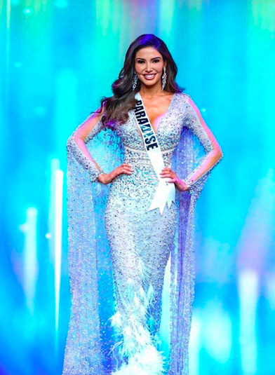 Miss Nevada USA evening gown Dheymid Galaviz
