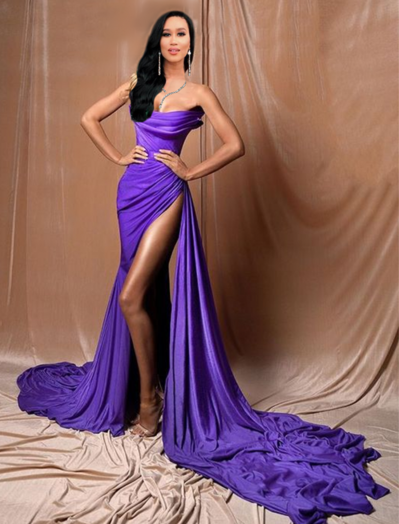 Miss New York USA evening gown Albina Dyla