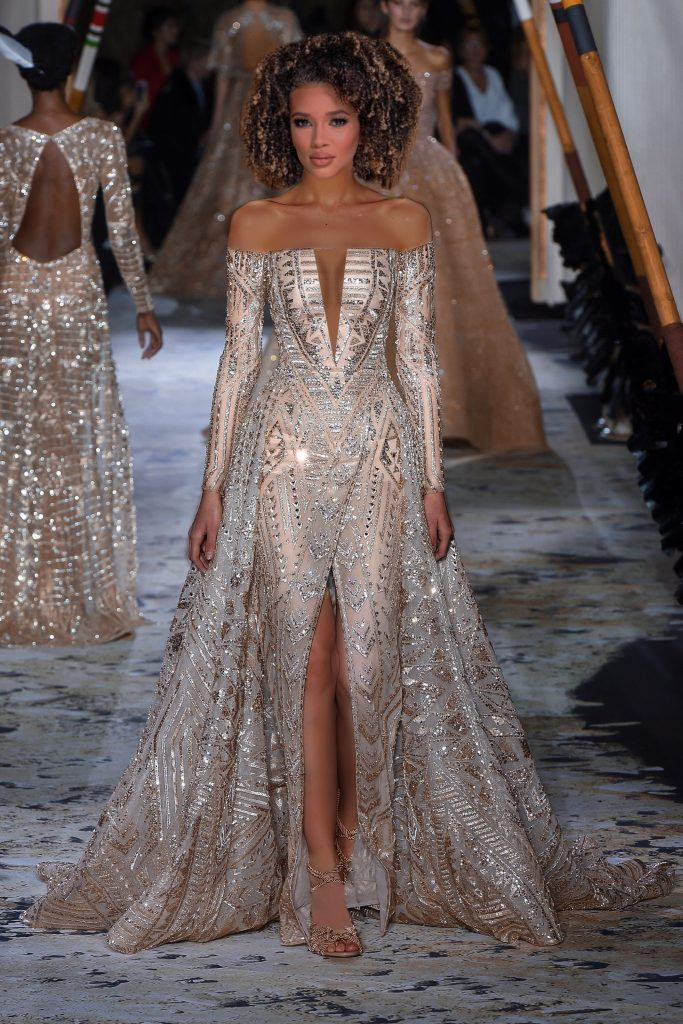 Miss Hawaii USA evening gown Zuhair Murad