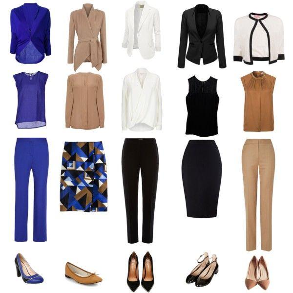 women's work capsule wardrobe