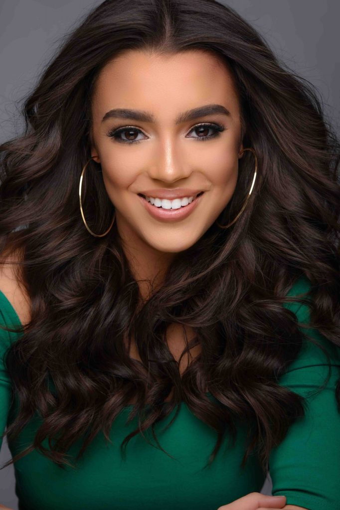 Miss New Hampshire Teen USA 2020 headshot