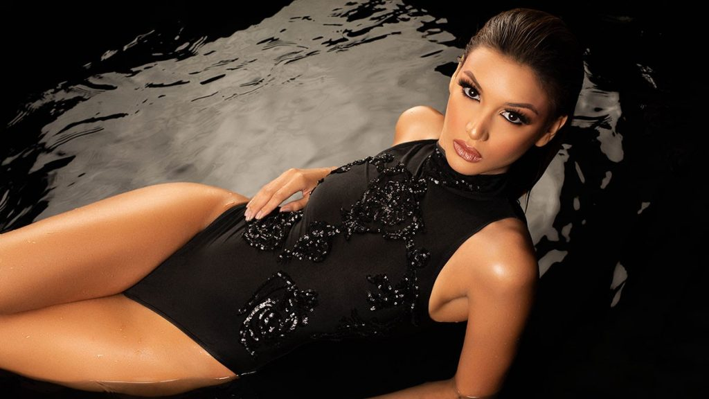Miss Portuguese Lisandra Chirinos