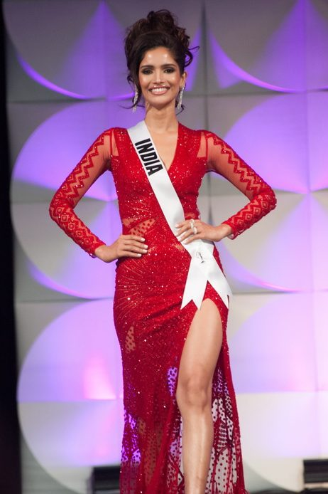 Vartika Singh Miss Universe evening gown