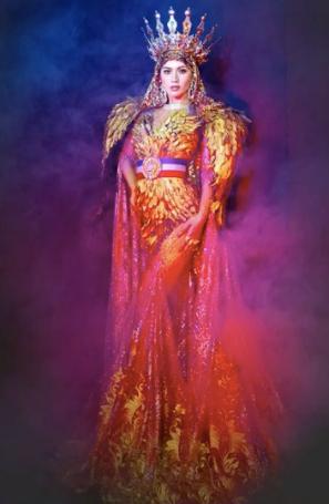Binibining 2021 national costume