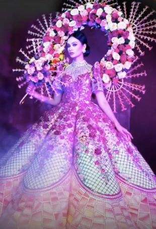 Binibining Pilipinas national costume 2021