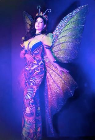 Vickie Ruston naitonal costume
