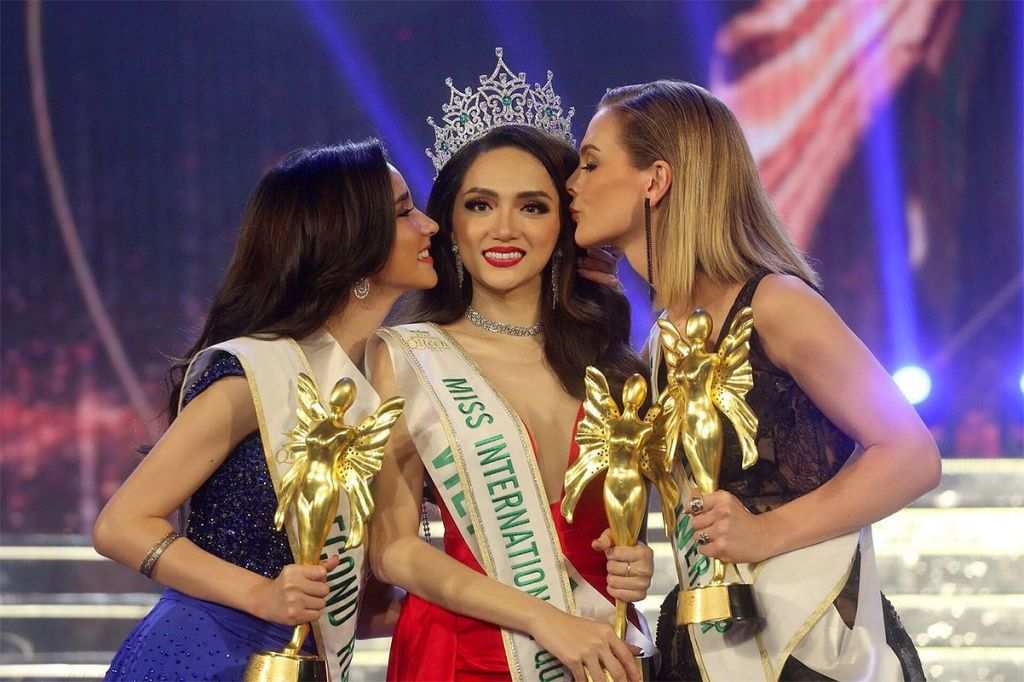 Miss International crowning moment